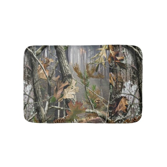 Camo Bathroom Rugs: Forest Camo Bath Mat