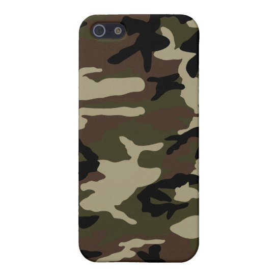 forest camo camouflage iPhone SE/5/5s cover