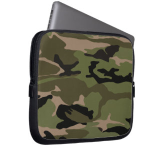 Forest Camo Laptop Sleeve