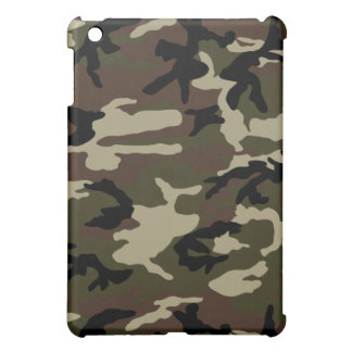 forest camo print camouflage pattern army military case for the iPad mini