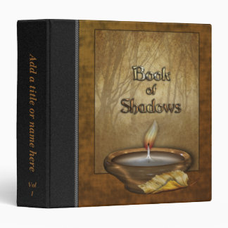 """Forest Candle Book of Shadows 1.5"""" Avery Binder"""
