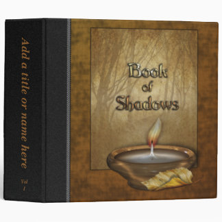 "Forest Candle Book of Shadows 2"" Avery Binder"