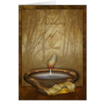 Forest Candle Greetings and Note Cards