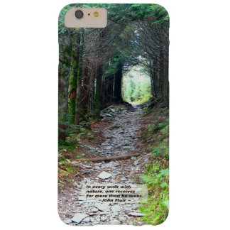 Forest Canopy Hiking Trail | Walk w/nature -Muir Barely There iPhone 6 Plus Case
