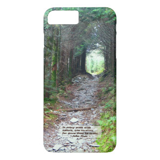 Forest Canopy Hiking Trail | Walk w/nature -Muir iPhone 8 Plus/7 Plus Case