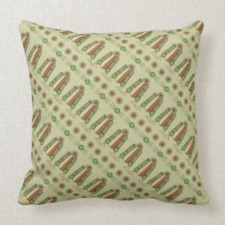 Forest CAT pattern Throw Pillow