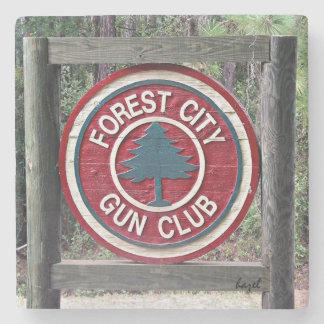 Forest City Gun Club, Savannah, Ga, Marble Coaster