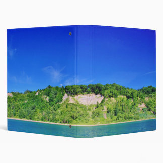 Forest Cliffs by the Lake Binder