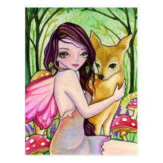 Forest Companion - Postcard