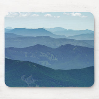 Forest Covered Hills Mouse Pad