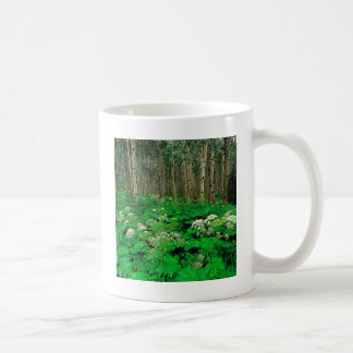 Forest Cow Parsnip Quaking Aspen Coffee Mug