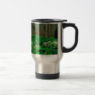 Forest Cow Parsnip Quaking Aspen Travel Mug