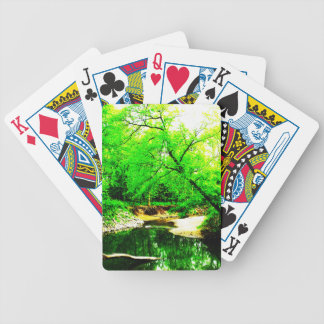 Forest Creek Bicycle Playing Cards