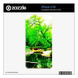 Forest Creek Decals For The iPhone 4S
