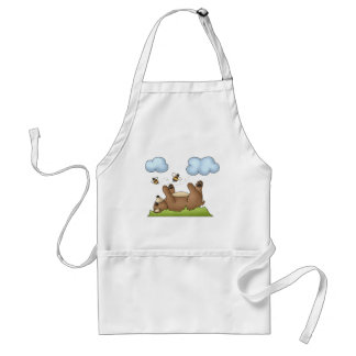 Forest Critters · Bear Adult Apron
