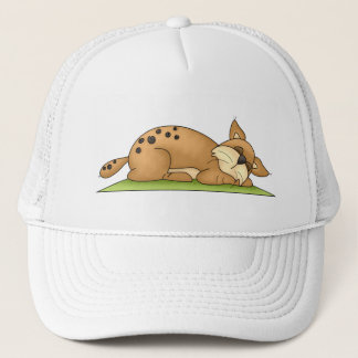 Forest Critters · Bobcat Trucker Hat