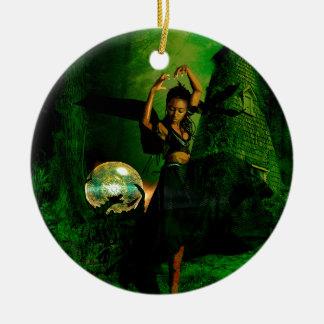 FOREST DANCE.jpg Ceramic Ornament