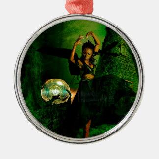 FOREST DANCE.jpg Metal Ornament