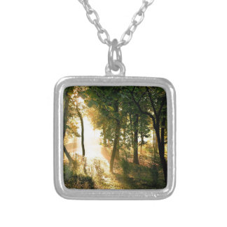 Forest Dawn In Madrid Pendants