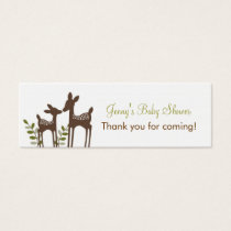 Forest Deer Forest Favor Tags Gift Tags