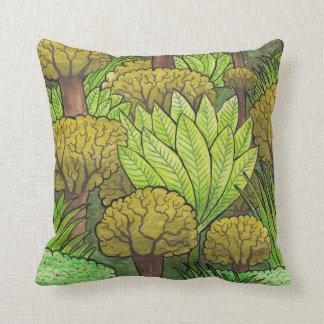 Forest Design Throw Pillow