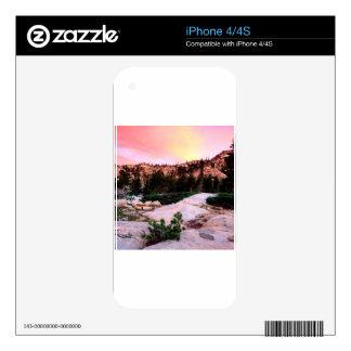 Forest Desolation Wilderness Eldorado iPhone 4 Skins