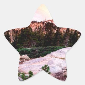 Forest Desolation Wilderness Eldorado Star Stickers