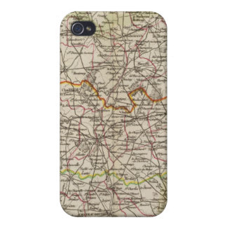 Forest, district boundaries iPhone 4 cover