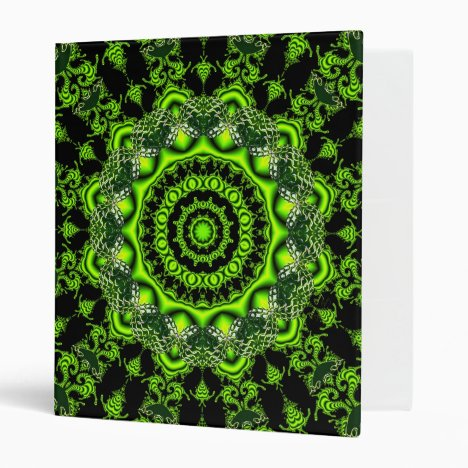 Forest Dome, Abstract Meadow in Woods 3 Ring Binder