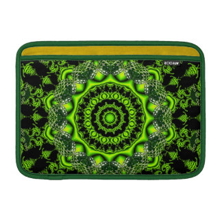 Forest Dome, Abstract Meadow in Woods MacBook Sleeve