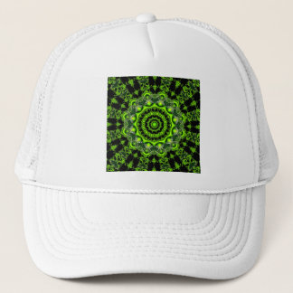 Forest Dome, Abstract Meadow in Woods Trucker Hat