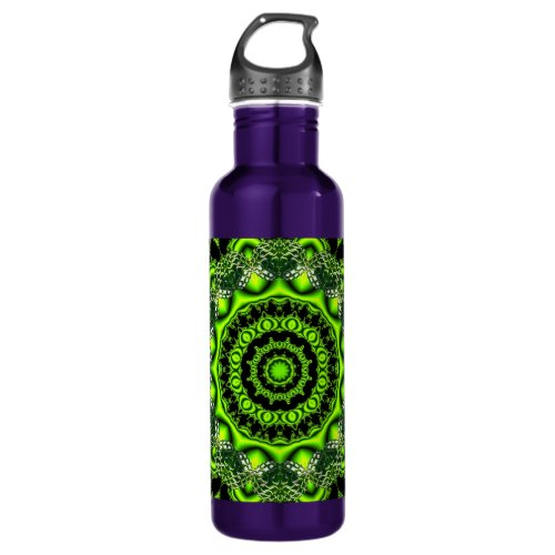 Forest Dome, Abstract Meadow in Woods Water Bottle