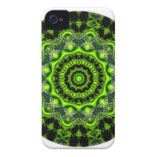 Forest Dome Mandala, Abstract Green Woods Case-Mate iPhone 4 Case