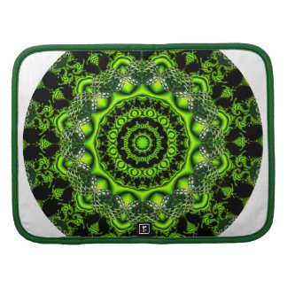 Forest Dome Mandala Abstract Green Woods Organizers