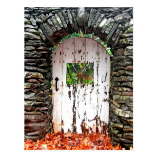 Forest Door, Hunter Mountain Postcard