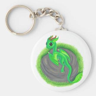 Forest dragon keychain