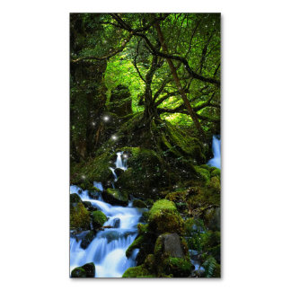 Forest dreams magnetic business card