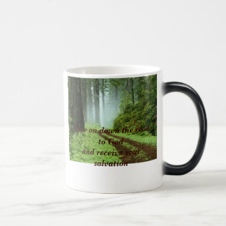 Forest, Ease on down the road to Godand receive... Magic Mug