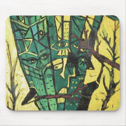 FOREST EATERS MOUSE PAD