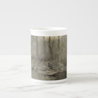 Forest edge water, anton mauve tea cup