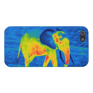 Forest Elephant - Thermal Image Case