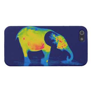 Forest Elephant - Thermal Image iPhone 5/5s Case
