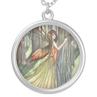 Forest Enchantment Fairy Art Necklace