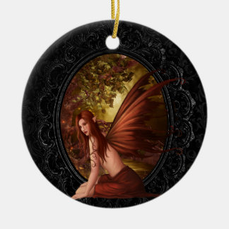 Forest Fae Ceramic Ornament