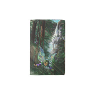 Forest Faires and Waterfall Castle Pocket Moleskine Notebook