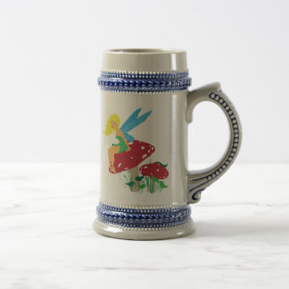 Forest Fairy Beer Stein Coffee Mugs