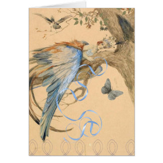 Forest Fairy Greeting Card