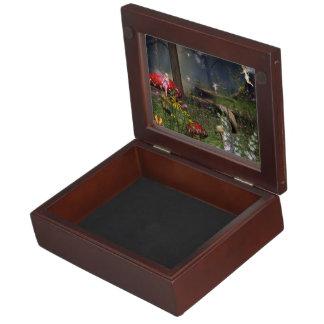 forest fairy customize Keepsake Box