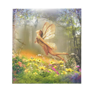Forest-Fairy-Flying Notepad