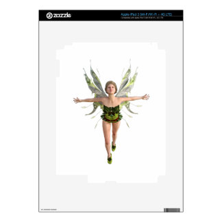 Forest Fairy Flying to the Front iPad 3 Skin